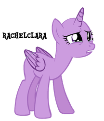 MLP Base #121 ' You Don't Know How I Feel !! ' by RachelClara