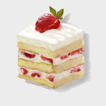 strawbrry shortcake by wqlf