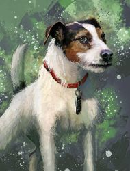 Jack Russell by FleetingEmber