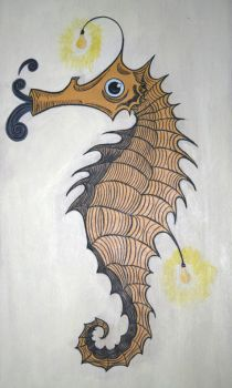 Untitled Seahorse by DuaneJealousy