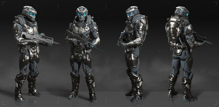 assault suit concept by GeorgeVostrikov