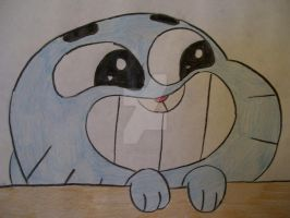 Gumball sees you. by AJLeefan4life