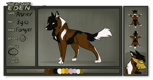 TDE: Asher {UTD Reference} by MokiHunter