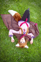 Holo - Lying in Grass by Denis-NanaOosaki