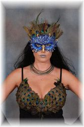 Customer: Peacock Mask by EMasqueradeGallery