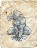 Lycanthrope by WithintheMechanism