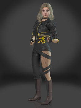 Black Canary by Sticklove