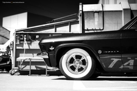 Black and White Impala by AmericanMuscle