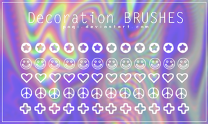 {Decoration - Brushes} by Poqi