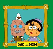 SpongeBob's Dad and Mom (version 2) by matiriani28