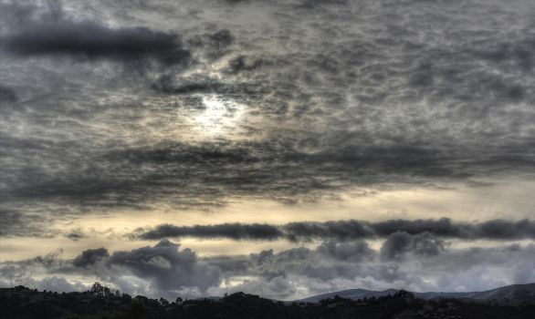 A Trifle Ominous - HDR by SensitiveMutant