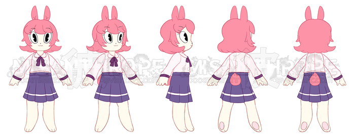 .:new character turnaround:. by mothermultiverse