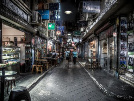 Laneways and Byways by Grayda