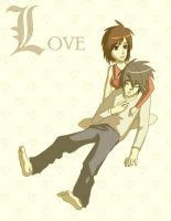 Death Note: L Love by Komodo-Fisher