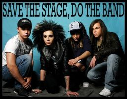 Save The Stage, Do The Band by Lady-Vibeke
