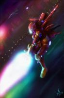 Iron Man by incomitatum