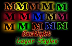 Back Light PS Styles by manoluv
