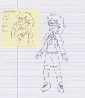 Dipper and Mabel Fusion by Spyro-For-Life