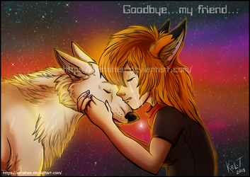 Goodbye, My Friend by Senshee