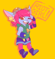 Riot Girl by ChocoChaoFun
