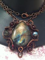 Genesee Pendant by tanyquil