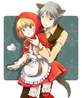 Little Red Riding Hood by nao148