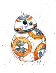 BB-8 by mayan-art