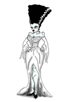 Bride of Frankenstein by after-the-funeral
