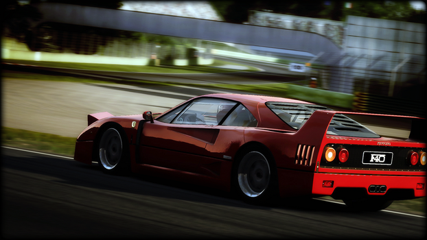F40 Imola by thylegion