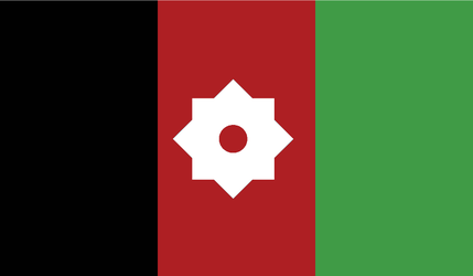 Flag: Afghan Kingdom by Void-Wolf