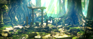 Deep Forest Ruins by huyk