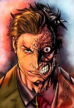 Two Face by rtterry3225