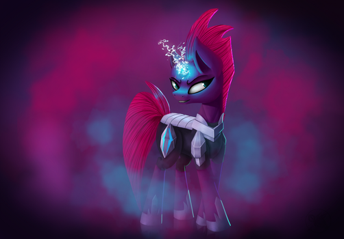 Tempest Shadow (Redraw) by QueForTia