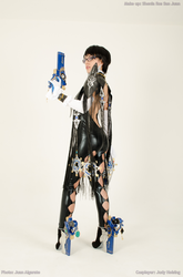 Bayonetta 2 cosplay - No-one said you could touch by JudyHelsing