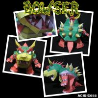 Bowser Papercraft by acidic055