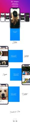 FREE Instagram Image Sizes and Dimensions Template by MarinaD