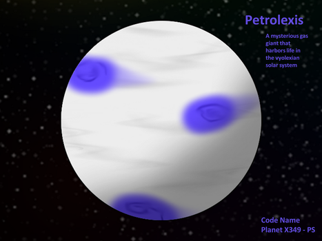 Planet Petroleixs - The Mysterious Gas Giant by Rotommowtom