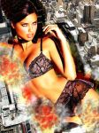 Adriana Lima - What Are You Looking At by GiantessStudios101