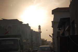 The Rising Sun And The Mosque by redeemerofdarkness