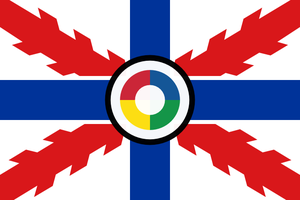 Air force ensign of Iberia by hosmich