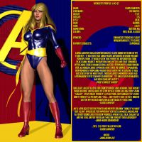 Avengers Profiles - Ms Marvel by Sailmaster-Seion