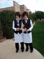 Hitachiin waiters - PCC by panda-monnee-um