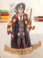 Harry Potter, The boy who lived by Kro-987