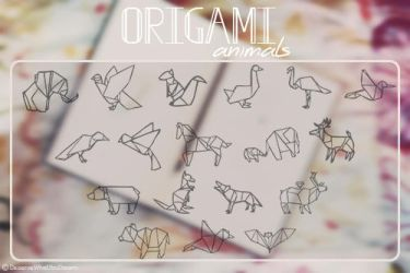Origami Animals by DeserveWhatYouDream