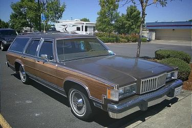 1985 Mercury Colony Park by humloch