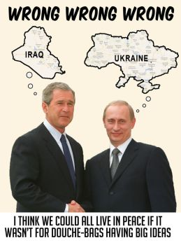 Bush and Putin sitting in a tree... by lester-the-quaestor