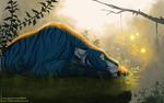 YCH - Jungle lullaby by dNiseb