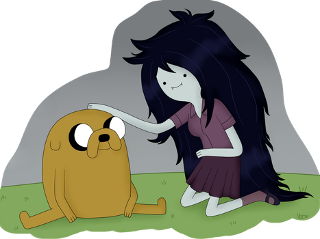 Time Sandwich: Jake and Marceline by AndiScissorhands