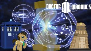 Doctor Whooves Wallpaper by DJBrony24
