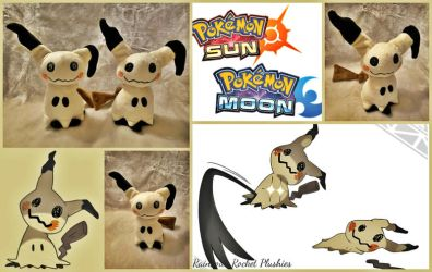 Mimikyu Pokemon Flat Sale Plush (On Sale-Etsy) by The-Plushatiers